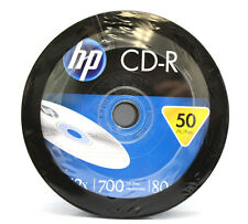 100x HP Blank CD-R CDR Recordable Spindle Branded 52X 700MB 80min Media Disc