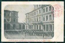 Imperia Porto Maurizio XVI Reggimento Fanteria Militari cartolina QT7620