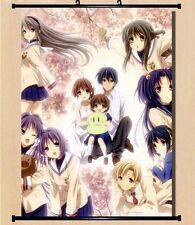 """8""""*12"""" Home Decor Japan Anime CLANNAD Cosplay Wall poster Scroll 357"""