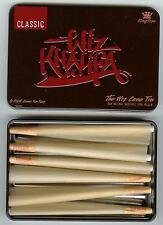 NEW RAW Rolling Papers and Wiz Khalifa CONE Storage TIN (with 6 CONES) KING SIZE