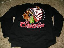 NWT Enemy of the State Chiefin Sweatshirt Black Size L Mens NEW