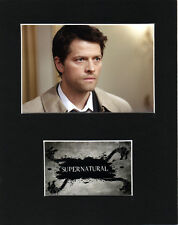 Supernatural Castiel Mounted pictures