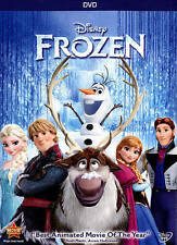 Frozen (DVD, 2014) Animated, Kids, Family, Adventure NOW SHIPPING !