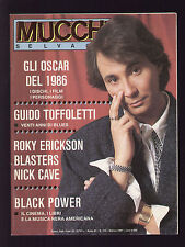 MUCCHIO SELVAGGIO 110/1987 TOFFOLETTI NICK CAVE ROKY ERICKSON BLASTERS SPIKE LEE
