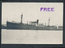 1921 BATTLESHIP MANDARIN (Built in China) Vintage Photo