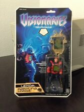 VISIONARIES 1987 HASBRO VINTAGE ACTION FIGURE MOC LEXOR SEALED NEW MINT