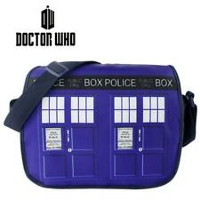Doctor Who Tardis Police Box shoulder bag Satchel Bag Schoolbag New
