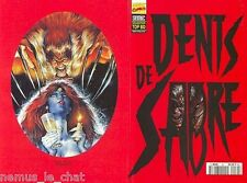 Comics Français   Lug - Semic     Top BD   N° 34  DENTS DE SABRE    TBE