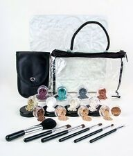 20pc Mineral Makeup Kit LIGHT & FAIR Foundation Bare Face Powder Sheer Set Cover