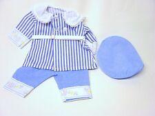 Schildkröt Puppenkleidung, Nostalgie Anzug mit Spitzenkragen, für 46 cm Puppen