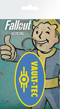 Fallout Vault-Tec Keyring Llavero De Goma | mercancía juego oficial [nuevo]