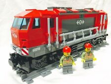Lego City Red Cargo Train Diesel Engine + Motor (NO PF) 60098/60052/7939 Mint
