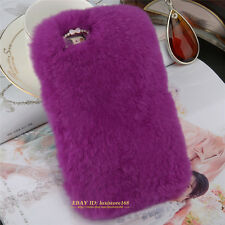 Newest Fluffy Winter Hair Soft Skin Back Cover Phone Case For iPhone For Samsung