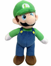 "Mario Bros 12"" Luigi Full Body Plush Soft Stuffed Toy New"