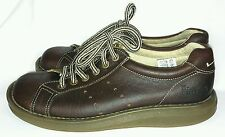 DOC MARTENS DR MARTENS WOMENS GRUNGE LEATHER OXFORD BROWN SHOES 8A58 6 US, 5 UK
