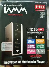 IAMM NTD36 HD | 1080p Cinema Jukebox Home Network Media Streamer Mediacenter PC