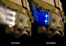 NEW SUREFIRE HELMET TACTICAL LIGHT DESERT TAN HL1-A-TN BLUE WHITE IR