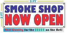 SMOKE SHOP NOW OPEN Banner Sign NEW Larger Size for Convenience Store Market