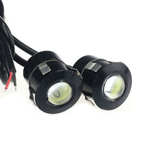 2X 9W LED DRL Eagle Eye Auto Luci diurne anabbaglianti Inverso Backup Parcheggio