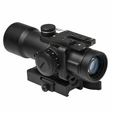 CPO SCOPE SERIES 3.5X32 COMPACT OPTIC/GREEN & BLUE ILL. URBAN TACTICAL RETICLE