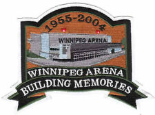 NHL WINNIPEG JETS ARENA 1955-2004 BUILDING MEMORIES PATCH