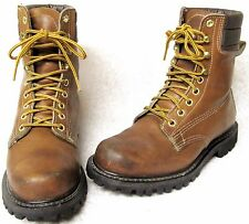 SEARS MONTBLANC BROWN ENGINEER HIKING BOOTS SIZE 7 1/2 D STYLE KF 86011 665