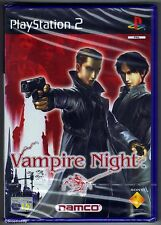 PS2 Vampire Night ( 2002 ) UK Pal Solus, Brand New & Sony Factory Sealed