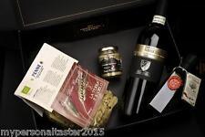 Confezione regalo con pasta, crema di porcini, olio e vino DOC