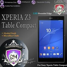 9H Tempered Glass Screen Film Protector For Sony Xperia Z3 Tablet Compact