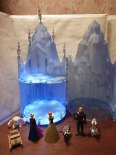 Rare Disney Frozen Elsa musical de glace Castle figurines jouet light up