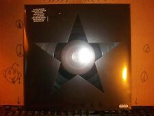David Bowie Black Star LP Album Vinyl MINT! (205) Factory Sealed! With Extras