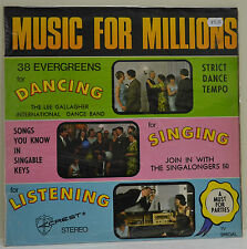 Lee Gallagher International Dance Band, The Singalongers 50, Music For Mil, (L2)