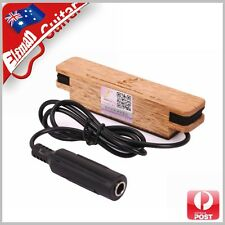 Premium Acoustic Guitar Pickup Solid Timber magnetic Dual Coil Sound Hole Pickup