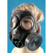 Black Latex Gas Mask Costume Accessory One SIze Dr. Who
