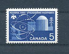 Canada 1966 usi pacifici dell' energia atomica sg574 BLOCCO DI 4 MNH