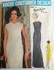 Vogue Couturier Design Galitzine Italy #1591 Dress Pattern CUT, COMPLETE Size 12
