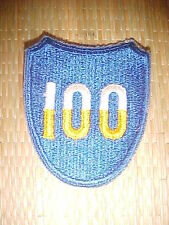WWII US 100th Infantrie Div. patch