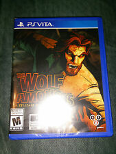PS Vita The Wolf Among Us Game (BRAND NEW FACTORY SEALED) Playstation
