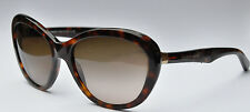 New  Dolce & Gabbana 4150 Women's Sunglasses 2587/13 Havana Brown 58mm SALE!
