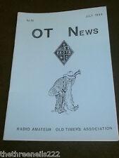 AMATEUR RADIO - RAOTA - OT NEWS #10 - JULY 1988