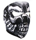 NEOPRENE SKULL FULL FACE MASK BIKER ATHLETIC MASK