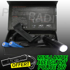 SWAT POLICE 1000M LAMPE TORCHE 3000 LUMEN 2 LED FLASHLIGHT + 2x8800MAH 18650 #1