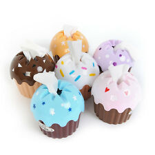 Cute HOT Cupcake Cake Tissue Box Towel Holder Paper Container Dispenser Cover