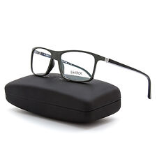 Starck Eyes Biozero Eyeglasses PL 1365 0002 Black & Grey Frame / RX Clear Lens