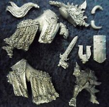 2002 Chaos Mounted Champion of Khorne Citadel Warhammer Lord Warrior Cavalry GW
