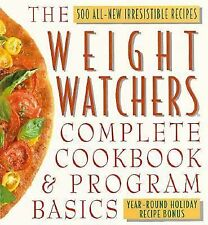 The Weight Watcher's Complete Cookbook and Program Basics by Inc. Staff...