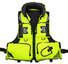 Stock Green Buoyancy Aid Sailing Fishing Kayak Life Jacket Vest Adult Size XL