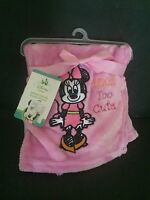 Disney babies Minnie Blanket   New.