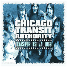 CHICAGO New Sealed 2017 UNRELEASED LIVE TEXAS 1969 CONCERT CD