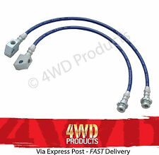 'Braided' Extended Brake Hose/Line kit - for Nissan Patrol GQ (Y60) GU (Y61)